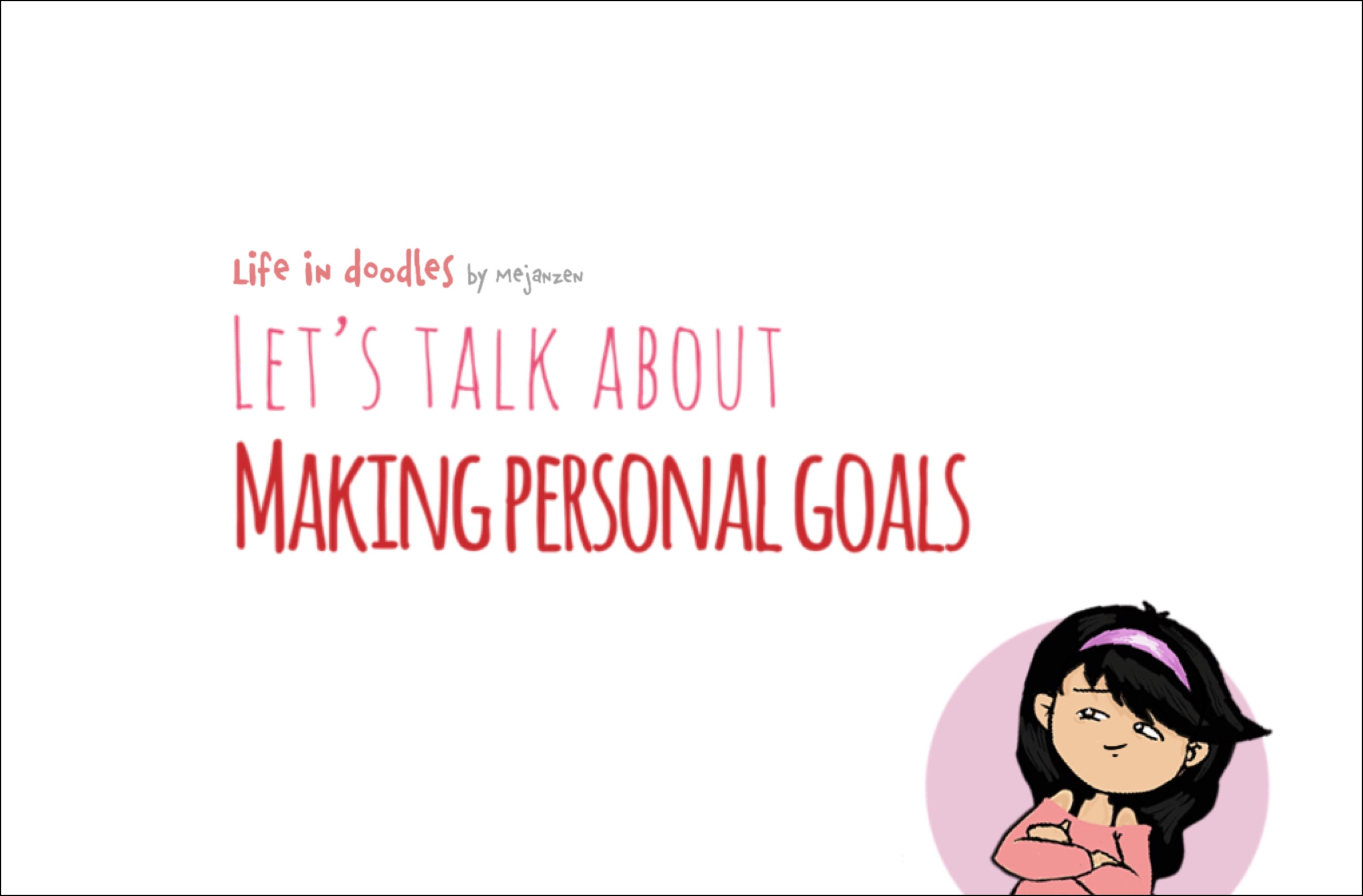 Making Personal Goals